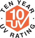 10 Year UV Rating